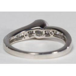 View 3: 14k White Gold and Diamond Ring Set