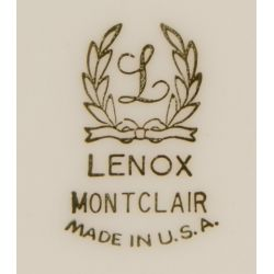 "View 2: Lenox ""Montclair"" China Service"