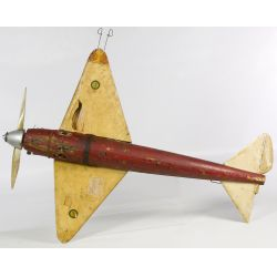 View 5: Gas Powered Tether Toy Airplane with McCoy Testers Engine