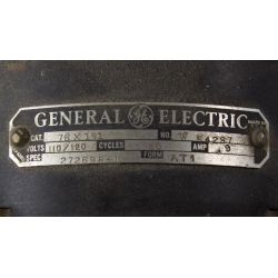 """View 2: General Electric """"Vortale"""" Table Fan and Brass Horn"""