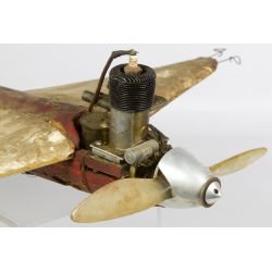 View 2: Gas Powered Tether Toy Airplane with McCoy Testers Engine