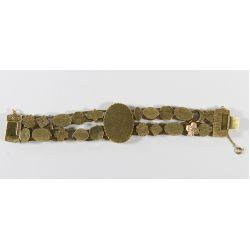 View 3: Goldette Cameo Slide Bracelet