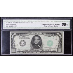 1934-A $1000 Federal Reserve Note