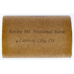 Rocky Mt. National Bank Morgan $1 Roll (Central City, CO)