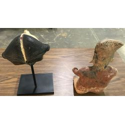 View 5: Primitive Figurine and Mask Assortment