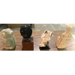 View 3: Primitive Figurine and Mask Assortment