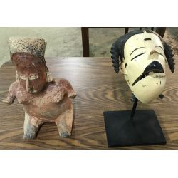 View 4: Primitive Figurine and Mask Assortment