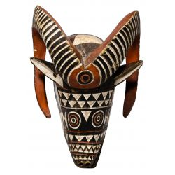 View 2: African Animal Mask Assortment