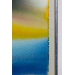 "View 2: Paul Jenkins (American, 1923-2012) ""Phenomena Mistral Gold"" Watercolor"