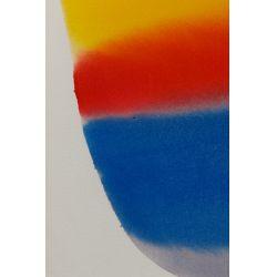 "View 3: Paul Jenkins (American, 1923-2012) ""Phenomena Mistral Gold"" Watercolor"