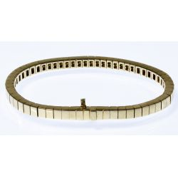 View 2: 14k Gold and Diamond Bracelet