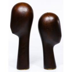 View 4: Franz Hagenauer Style Head Sculptures