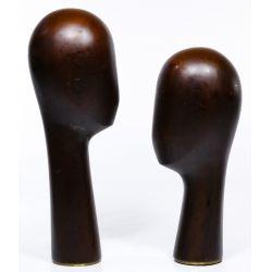 View 2: Franz Hagenauer Style Head Sculptures