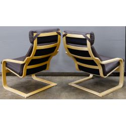 """View 2: MCM Style """"Poang"""" Chairs by Noboru Nakamura for IKEA"""