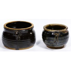 View 2: Chinese Oil Spot Double Ear Pots