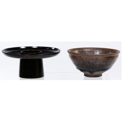 View 4: Chinese Tea Bowl, Stand, Caddy, Mortar and Pestle