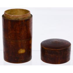 View 7: Chinese Tea Bowl, Stand, Caddy, Mortar and Pestle