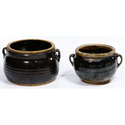 View 3: Chinese Oil Spot Double Ear Pots