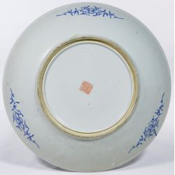 View 4: Chinese Ching / Qing Millefiori Famille Rose Plate