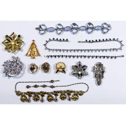 View 2: Signed Rhinestone Jewelry Assortment