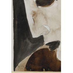 View 6: Poletti (American, 1908-1996) Watercolors on Paper