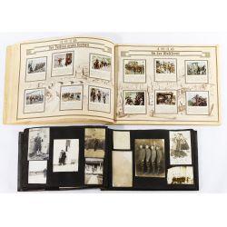 View 3: World War I Era Photograph Album and Tobacco Card Book