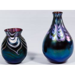 View 4: Lotton Art Glass Vases