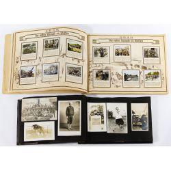 View 2: World War I Era Photograph Album and Tobacco Card Book