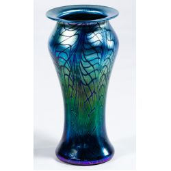 View 2: Lundberg Studios Art Glass Vase