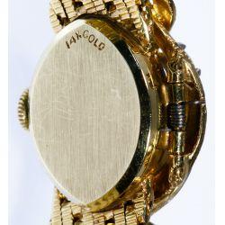 View 3: Baume & Mercier 14k Gold and Diamond Wrist Watch