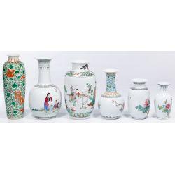 View 4: Asian Decorative Vase Assortment