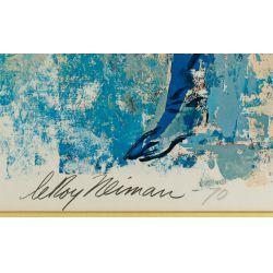 "View 2: Leroy Neiman (American, 1921-2012) ""Jockey"" Poster"
