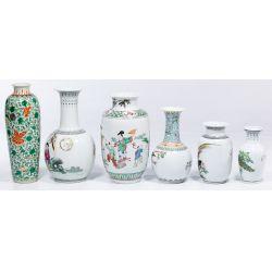 View 2: Asian Decorative Vase Assortment