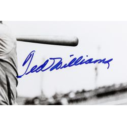 View 2: Ted Williams Autographed Framed Photograph