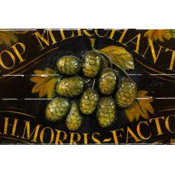 View 2: Morris & Co. Hop Merchants Advertising Sign