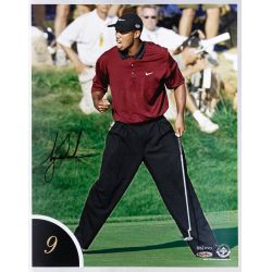 View 10: Tiger Woods 10 Best Shots Autographed Collection