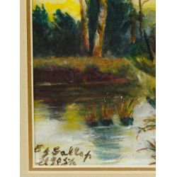 View 8: E.G. Gallop (Early 20th Century) Pastel