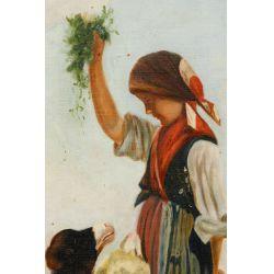 View 4: Unknown Artist (European, 20th Century) Oil on Canvas