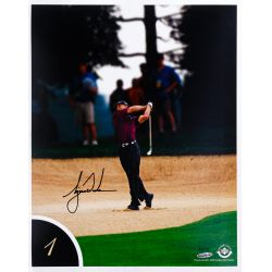 View 2: Tiger Woods 10 Best Shots Autographed Collection