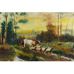 View 7: E.G. Gallop (Early 20th Century) Pastel
