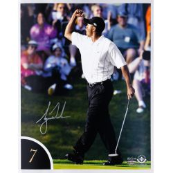 View 8: Tiger Woods 10 Best Shots Autographed Collection