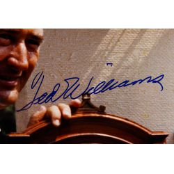 View 2: Ted Williams, Baseball Hall of Fame Autographed Photograph