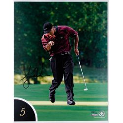 View 6: Tiger Woods 10 Best Shots Autographed Collection