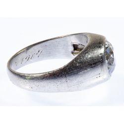 View 2: Platinum and Diamond Ring