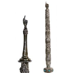 View 4: Sterling Silver Torah Pointer or Yad Assortment