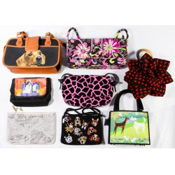 View 4: Leather Purse, Clutch, Printed and Change Purse Assortment