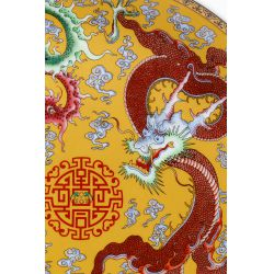 View 2: Chinese Dragon and Phoenix Plate