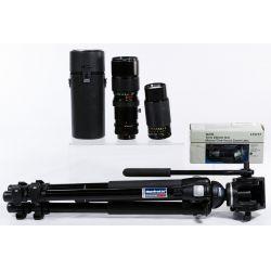 View 4: Camera and Tripod Assortment