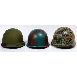 View 3: Vietnam War ARVN Ranger Painted Helmet Assortment