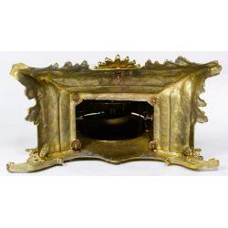 View 8: Dostal French Louis XVI Brass Mantel Clock